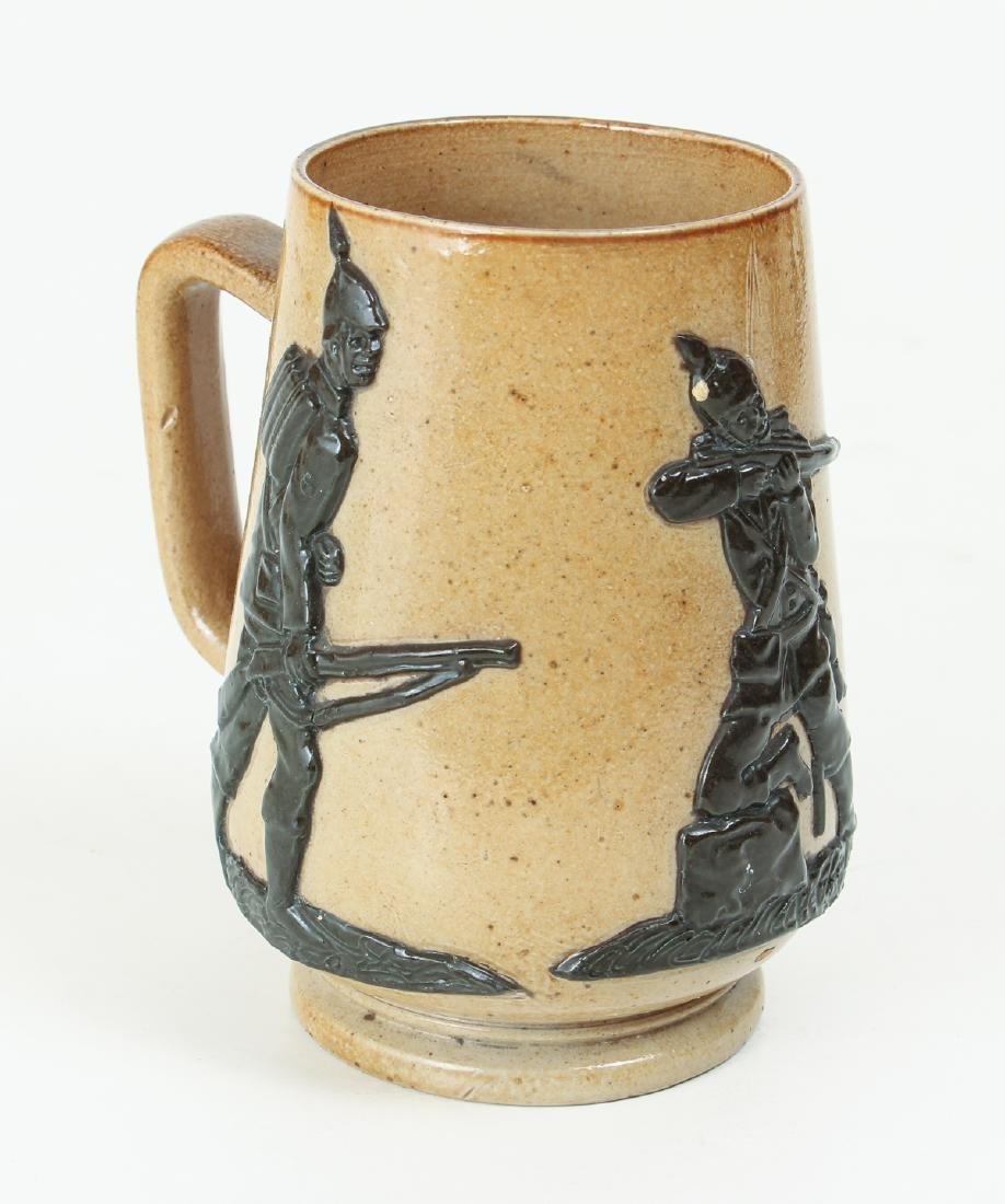 5 smaller Doulton Lambeth jugs, cups, beaker - 2