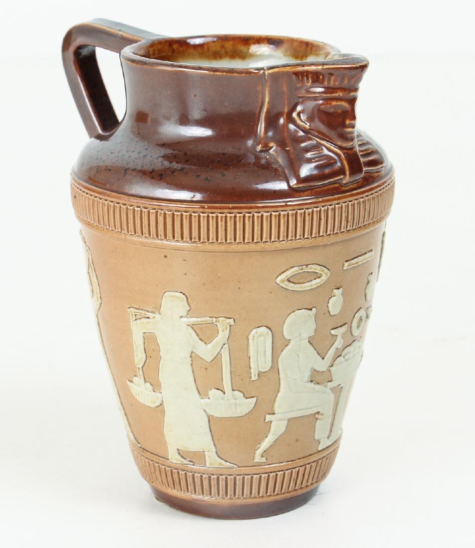 5 smaller Doulton Lambeth jugs, cups, beaker - 4