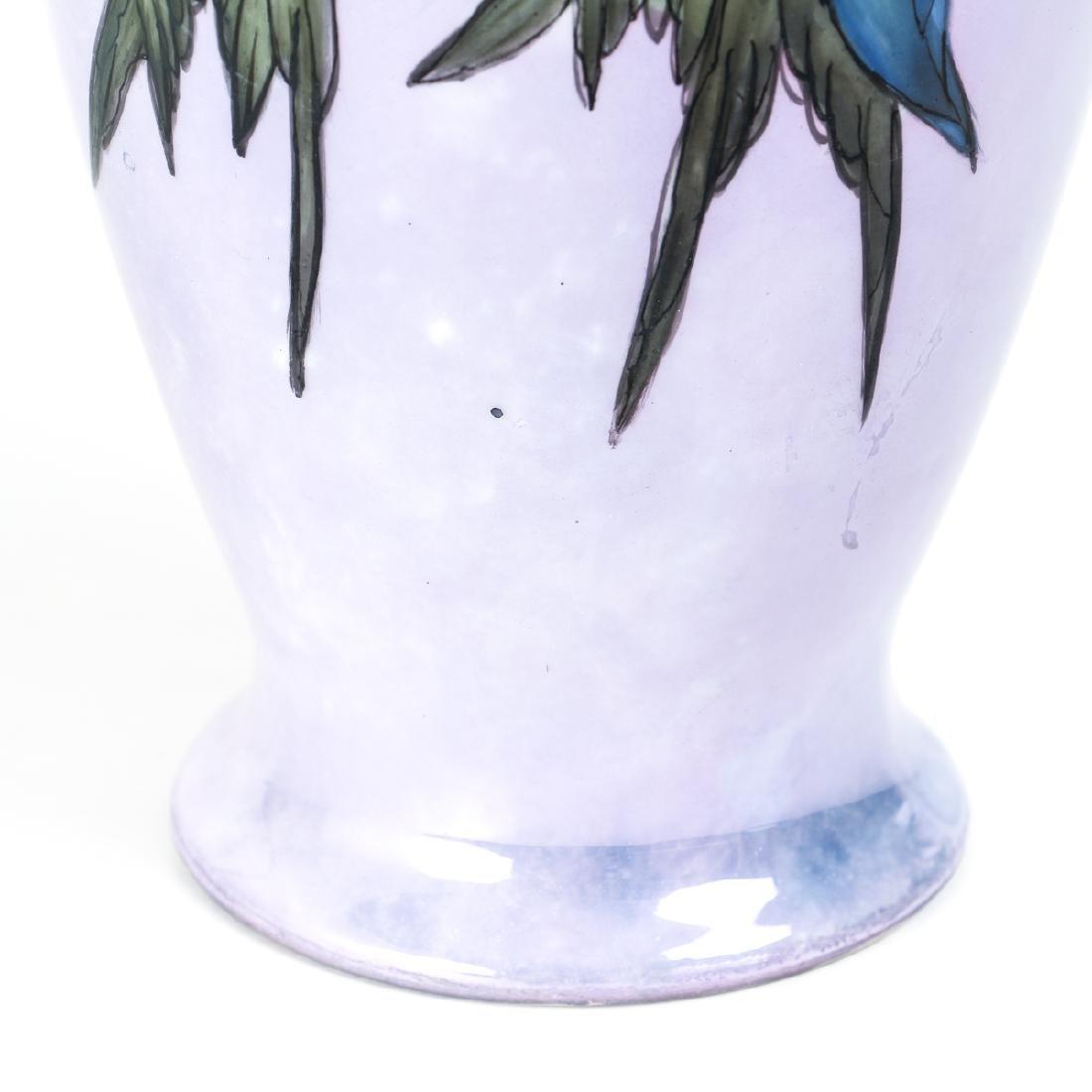 Hand Painted Victorian China Vase - 9