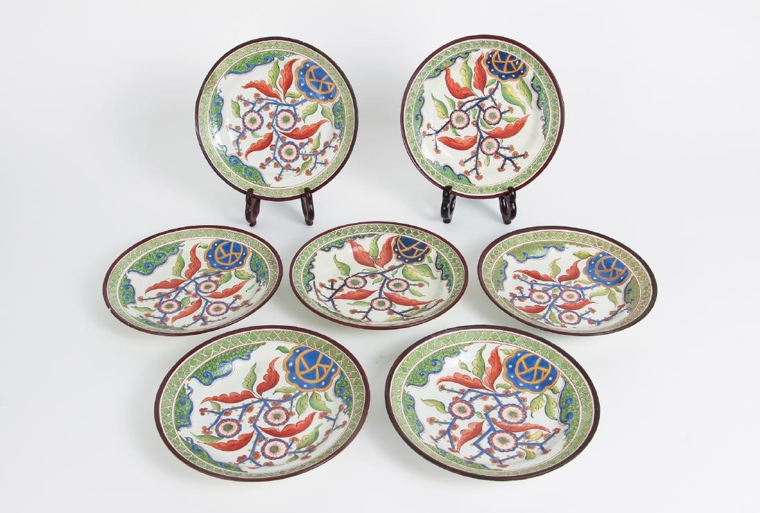 Twelve Piece Set Hand Painted English China - 2