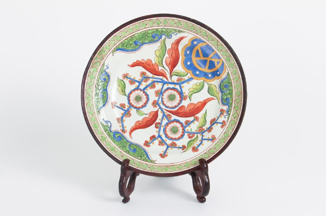 Twelve Piece Set Hand Painted English China - 3