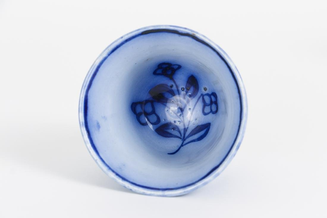 Nineteen Pieces of Flo Blue China - 10