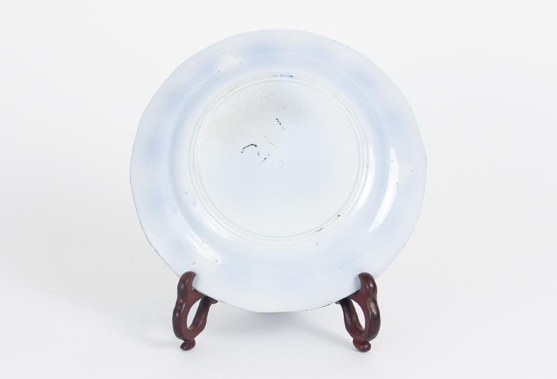 Nineteen Pieces of Flo Blue China - 4