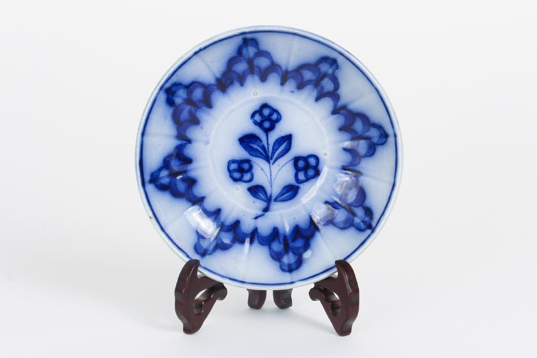 Nineteen Pieces of Flo Blue China - 6