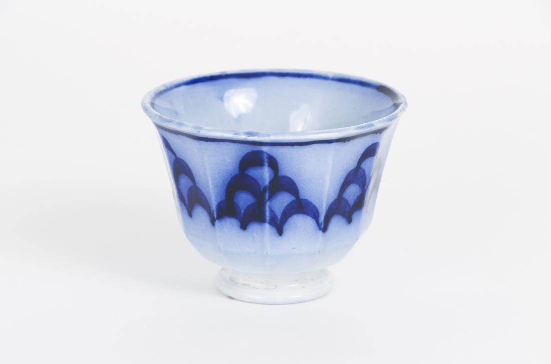 Nineteen Pieces of Flo Blue China - 9