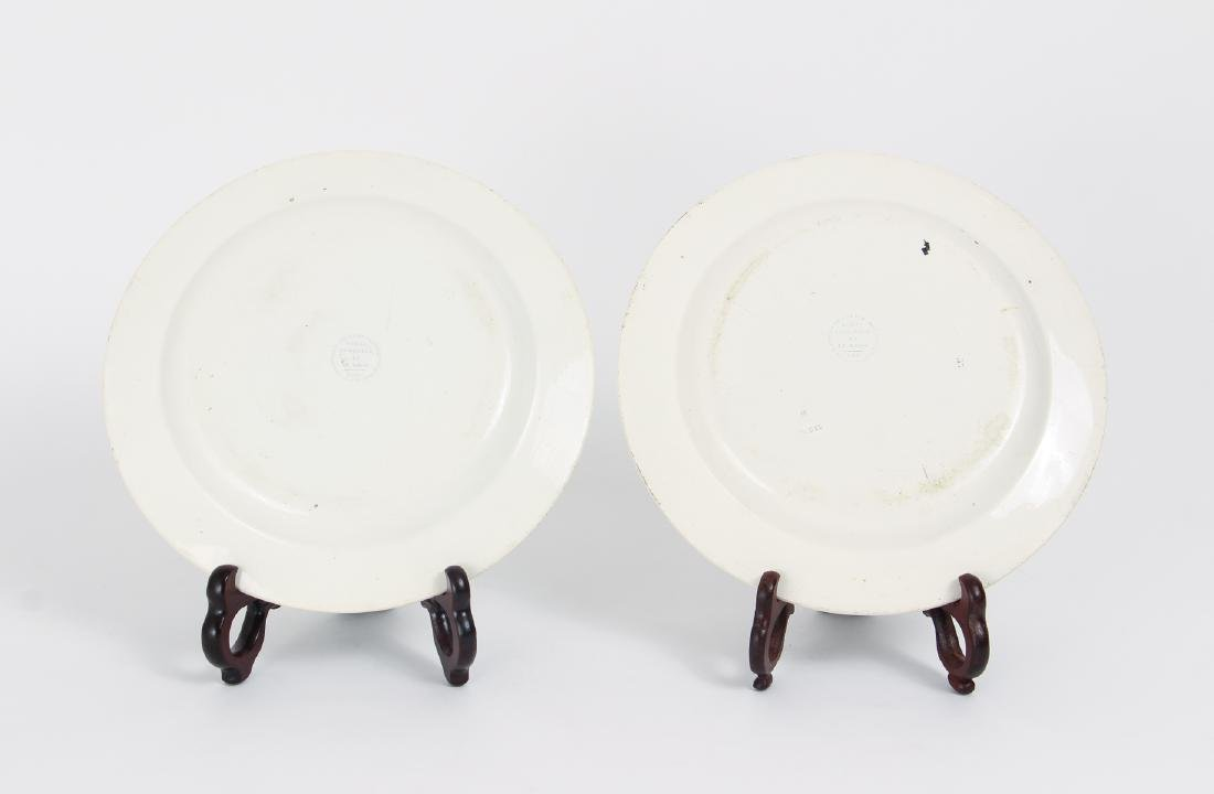 Large Group of French Themed Plates inc Napoleon - 10