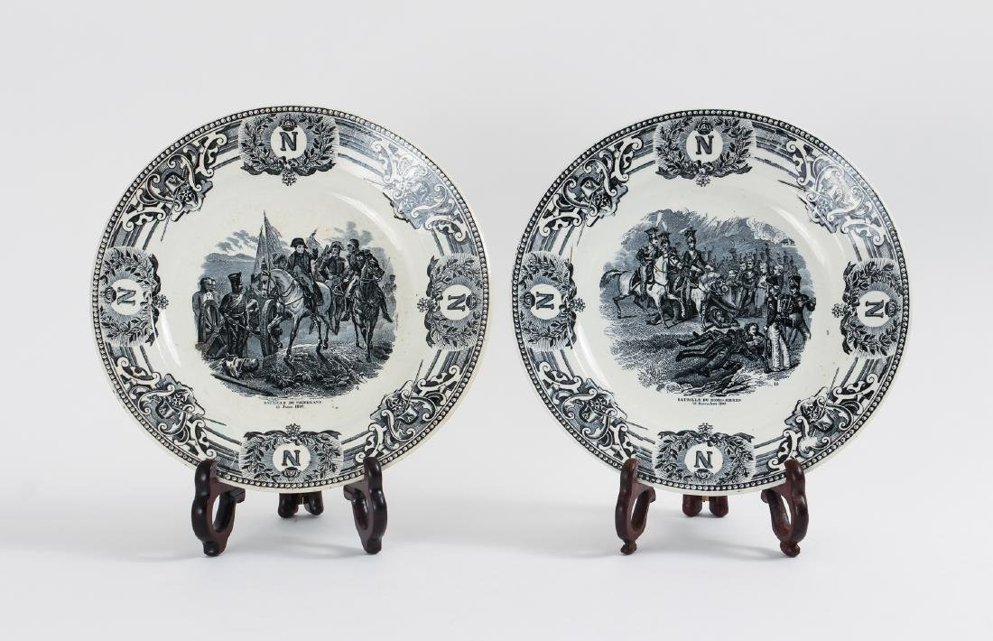 Large Group of French Themed Plates inc Napoleon - 2