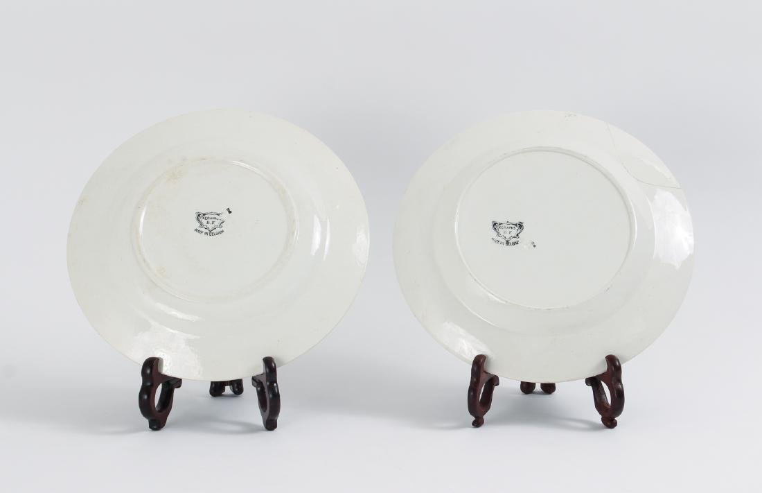 Large Group of French Themed Plates inc Napoleon - 3
