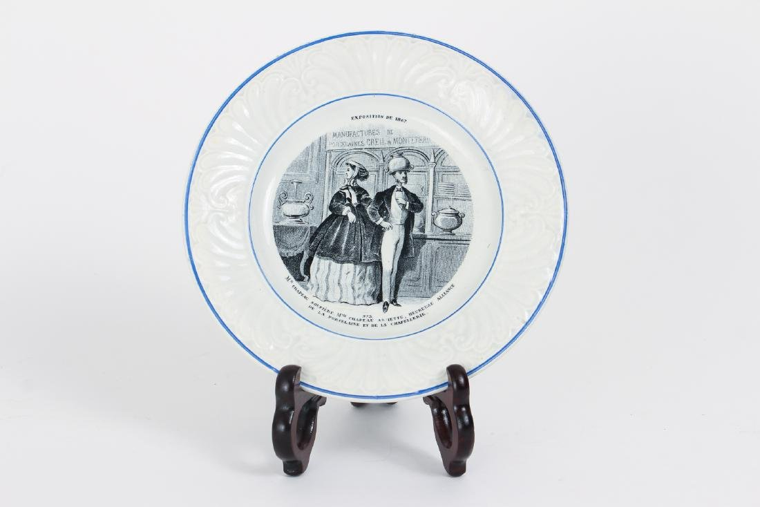 Large Group of French Themed Plates inc Napoleon - 7