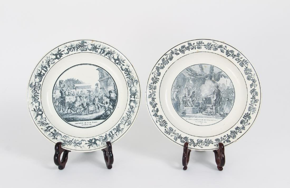 Large Group of French Themed Plates inc Napoleon - 9