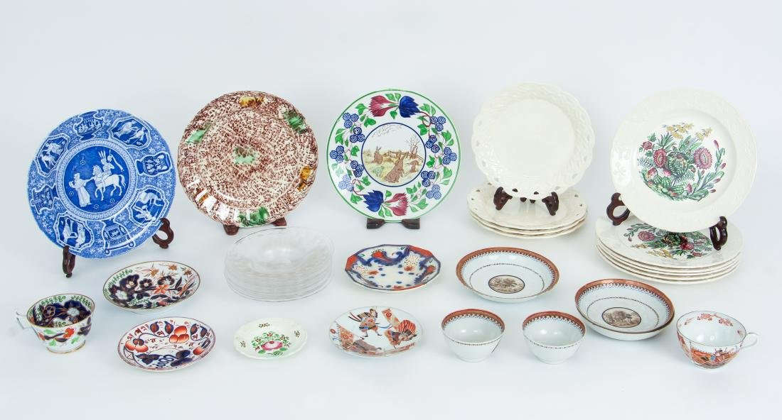 Large Group of Miscellaneous Glassware and China