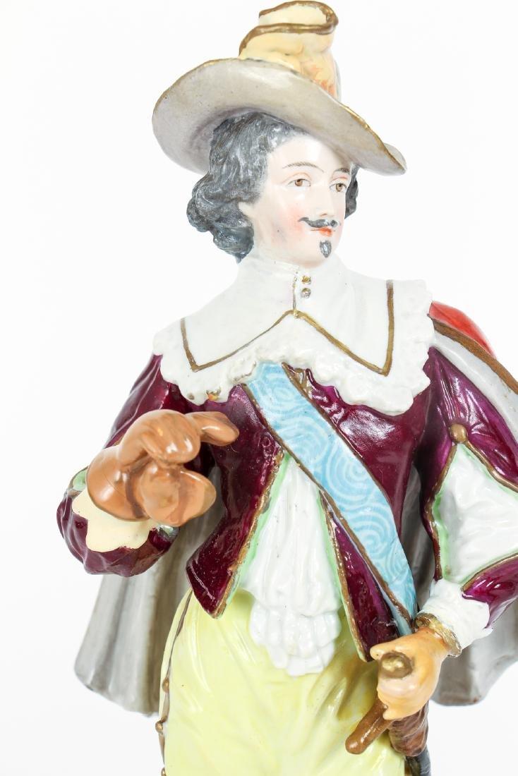 Meissen Style Porcelain Figure - 6