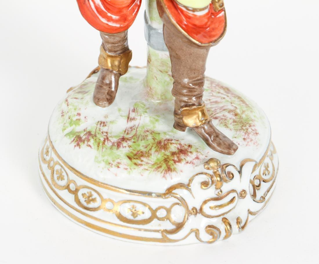 Meissen Style Porcelain Figure - 7