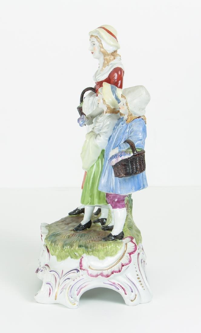 DRESDEN Porcelain Figurine Advertising Yardley's Old - 4