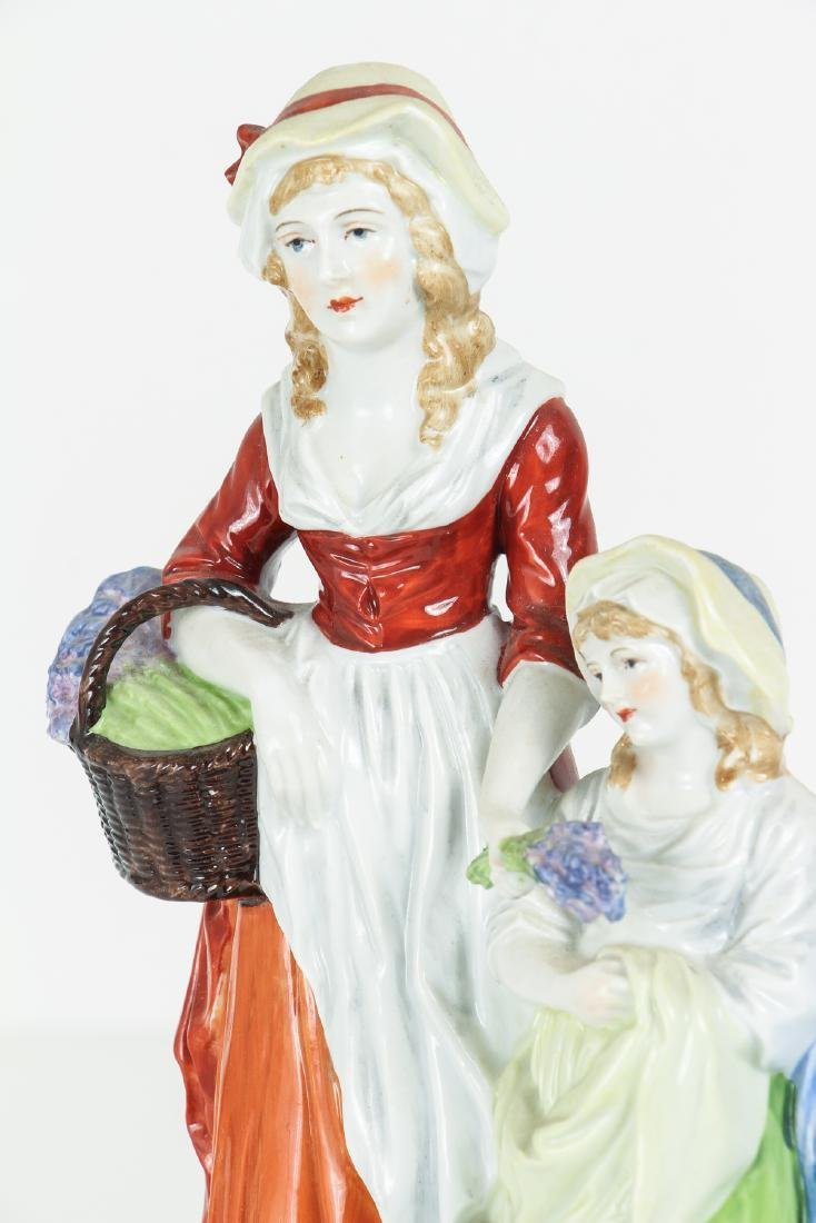 DRESDEN Porcelain Figurine Advertising Yardley's Old - 5