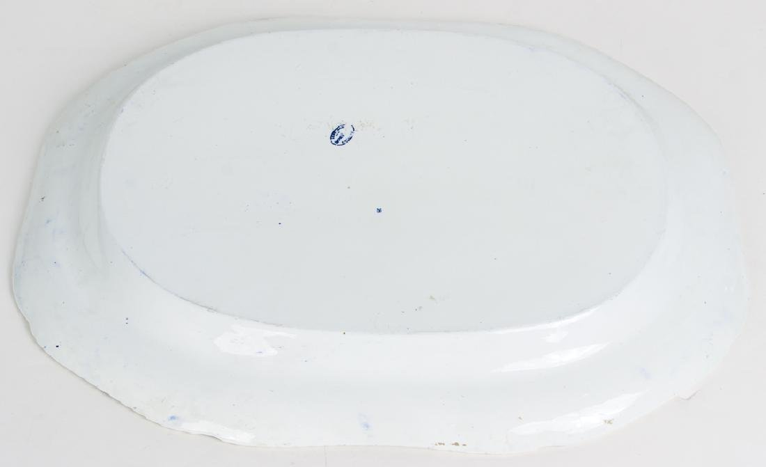 Large Copeland Spode  Blue Willow Platter - 2