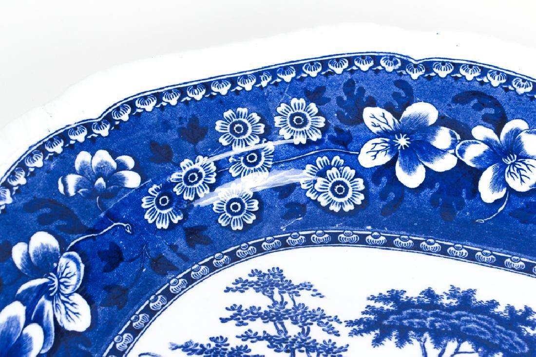 Large Copeland Spode  Blue Willow Platter - 6