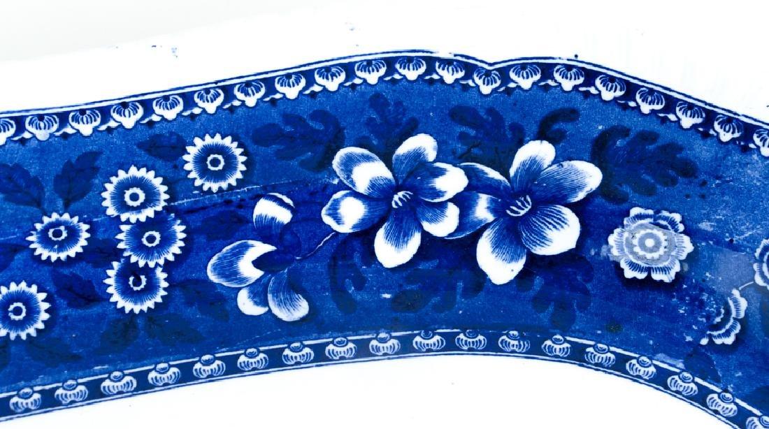 Large Copeland Spode  Blue Willow Platter - 7