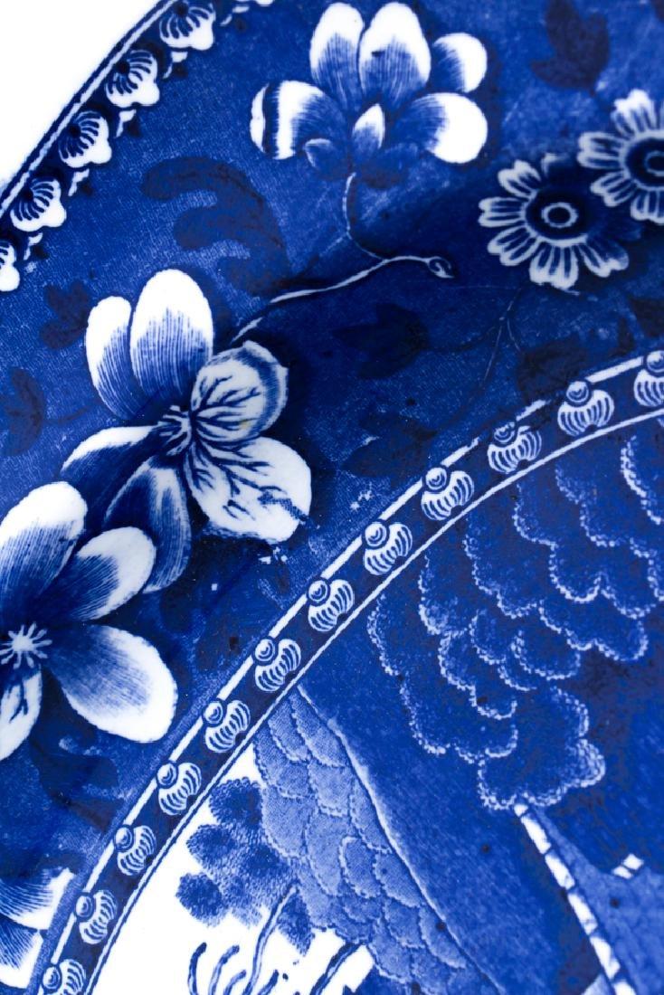 Large Copeland Spode  Blue Willow Platter - 8