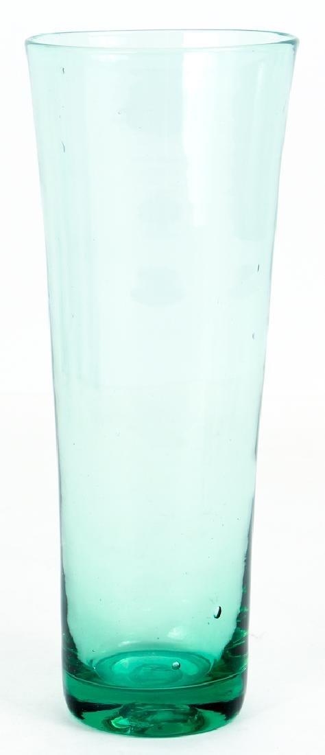 9 Handblown Pilsner Glasses - 3
