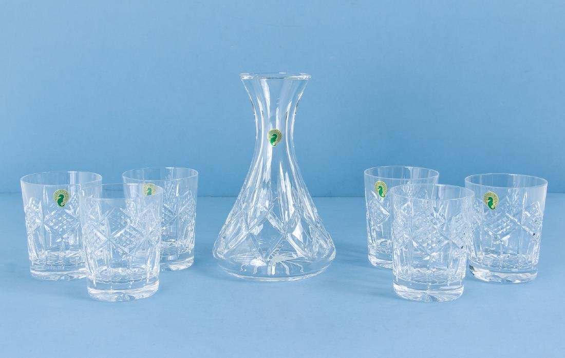 Waterford Carafe and Tumblers