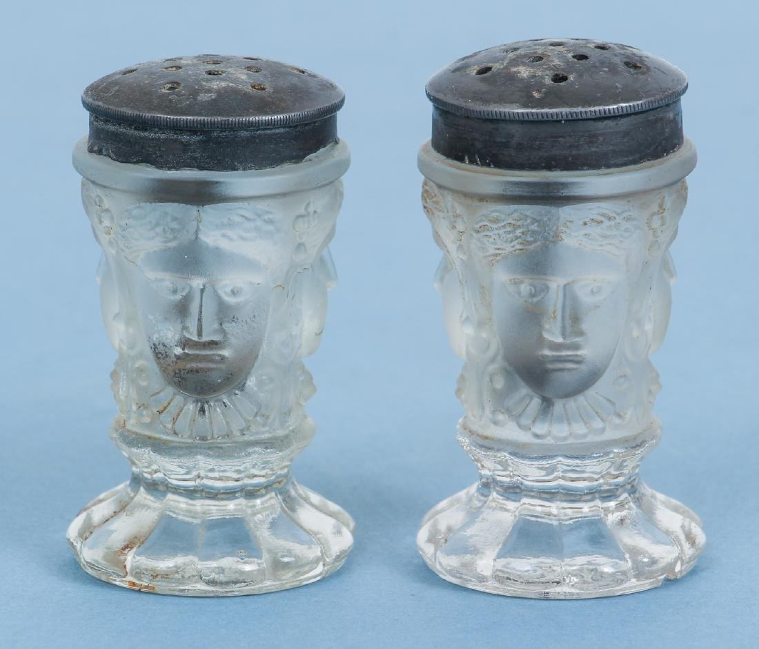 Pair of Duncan Three Face Casters
