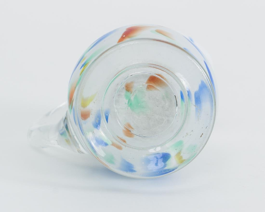 Charming End of Day Small Glass Pitcher - 6