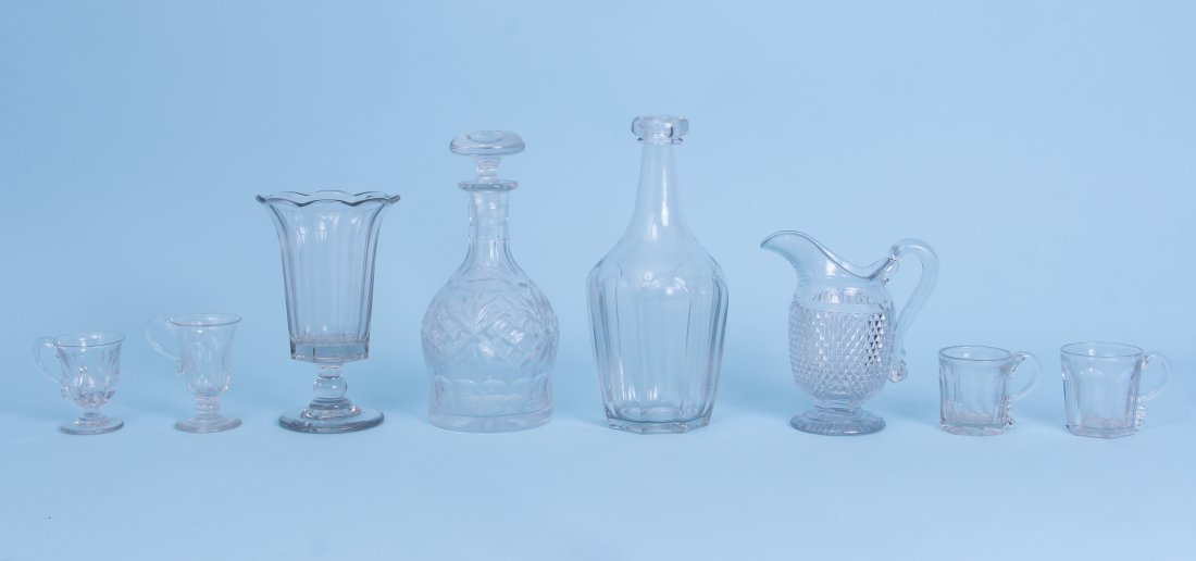 Group of Antique Glass