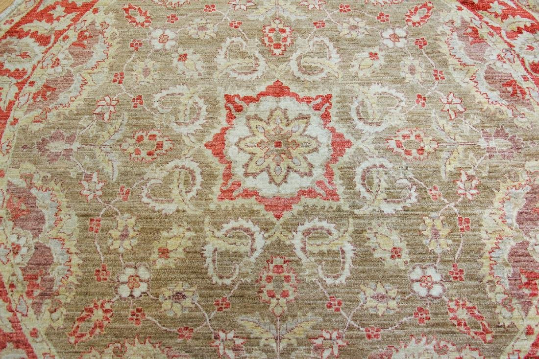 Round Arts and Crafts Style Carpet - 3