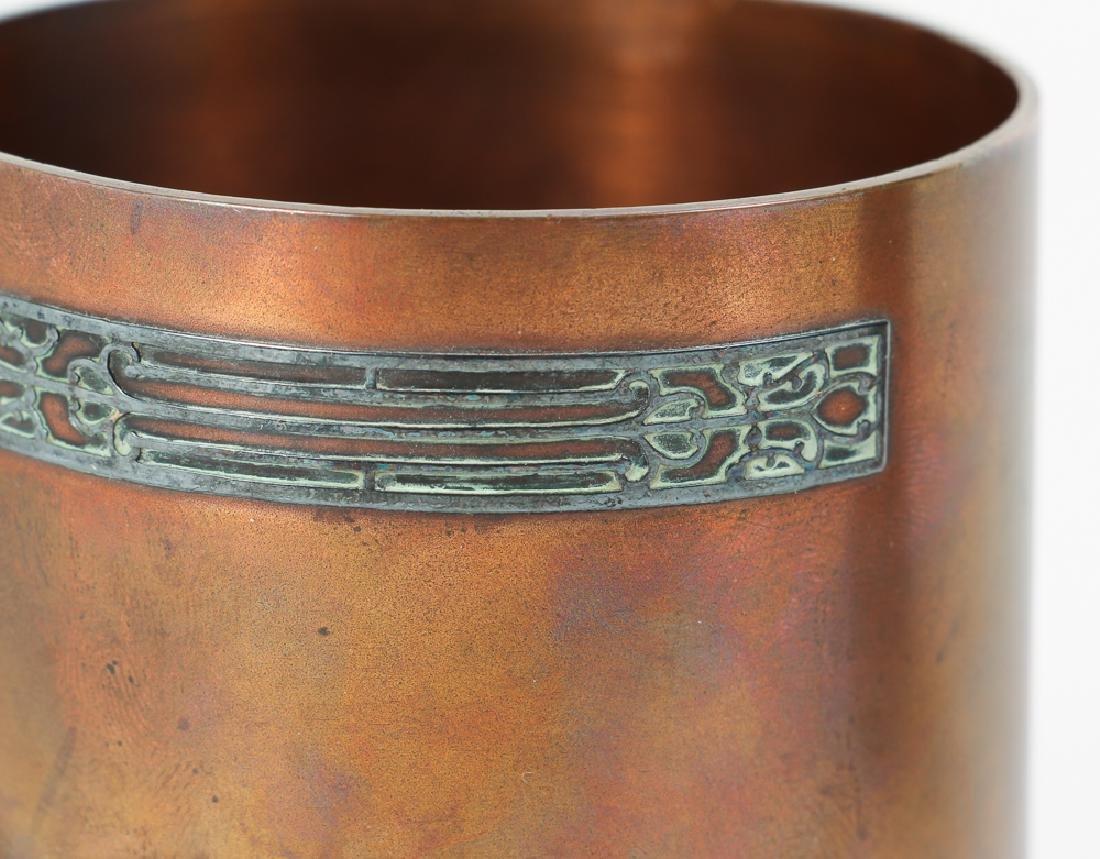 Heinz Arts Metal Shop Sterling on Bronze Smoking Set - 5