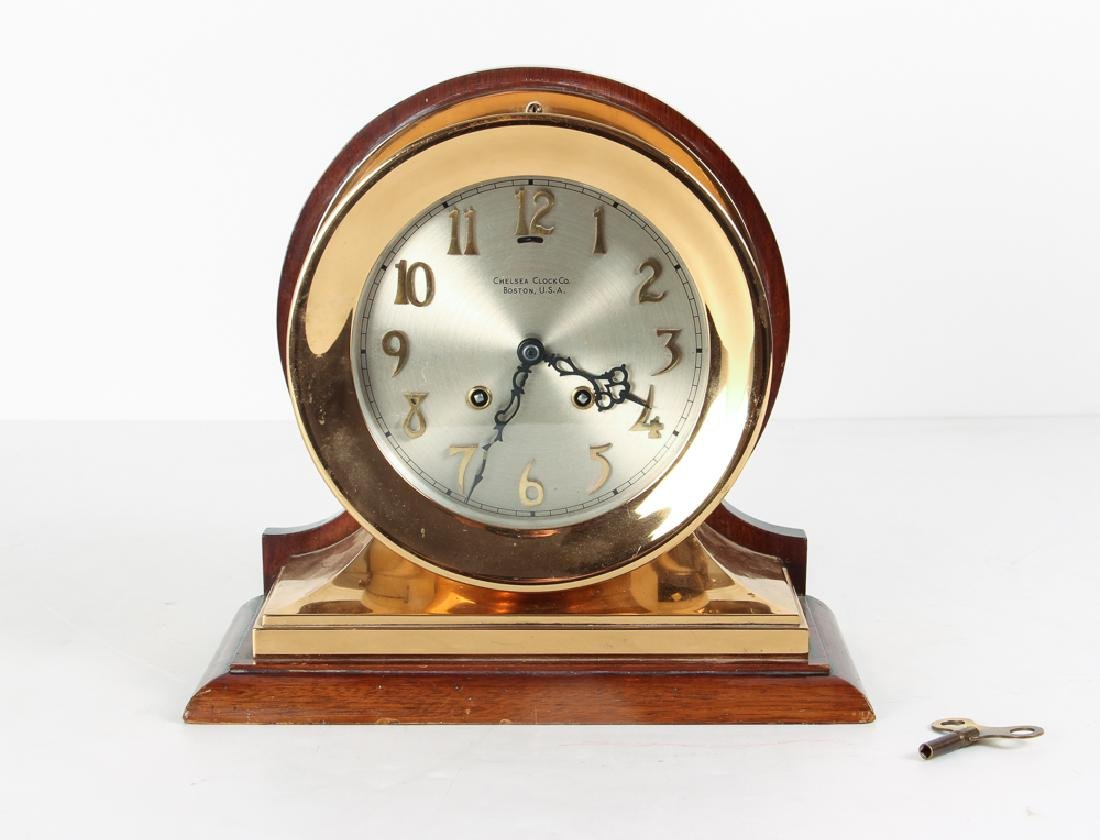Vintage Chelsea Ships Clock With Chimes
