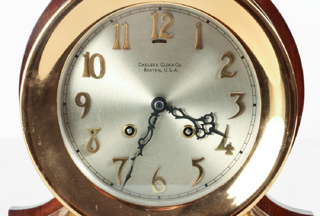 Vintage Chelsea Ships Clock With Chimes - 4