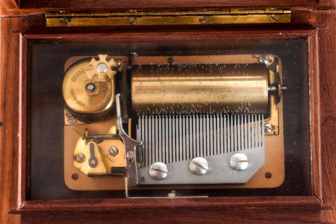Reuge Three Tune Music Box - 5