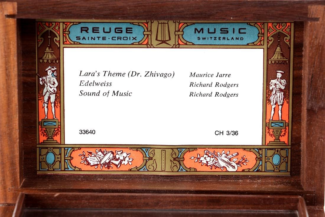 Reuge Three Tune Music Box - 6