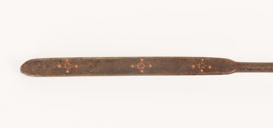 Five Antique Brass Utensils - 5