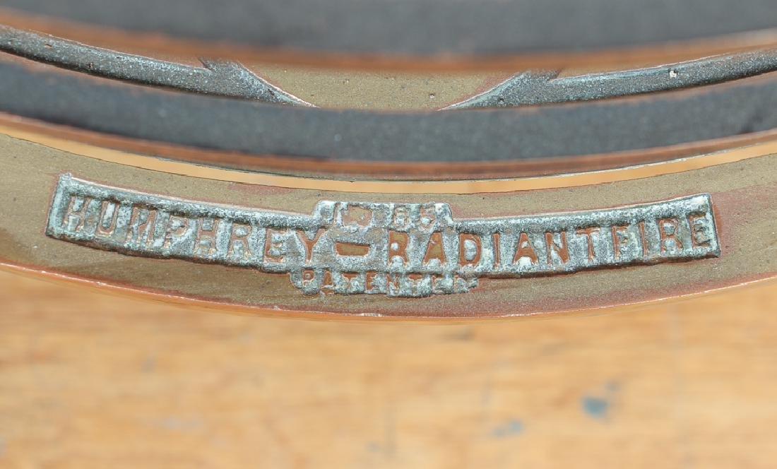 Humphrey Radiant Fire Brass Fireplace Insert - 2