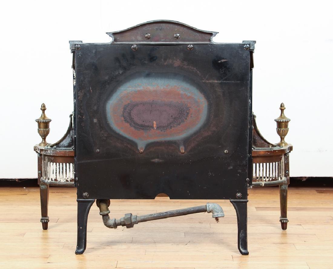 Humphrey Radiant Fire Brass Fireplace Insert - 4