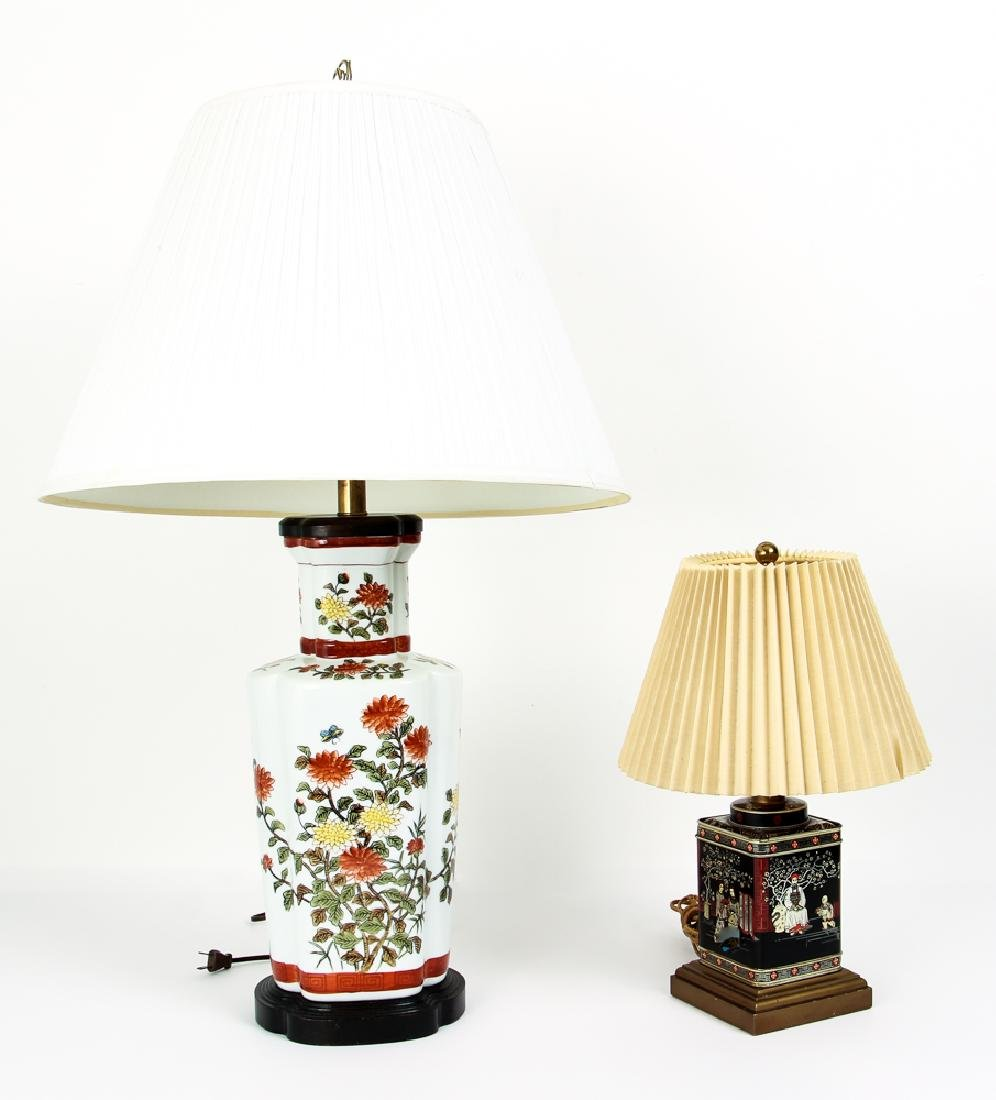 Two Lamps Including Frederick Cooper