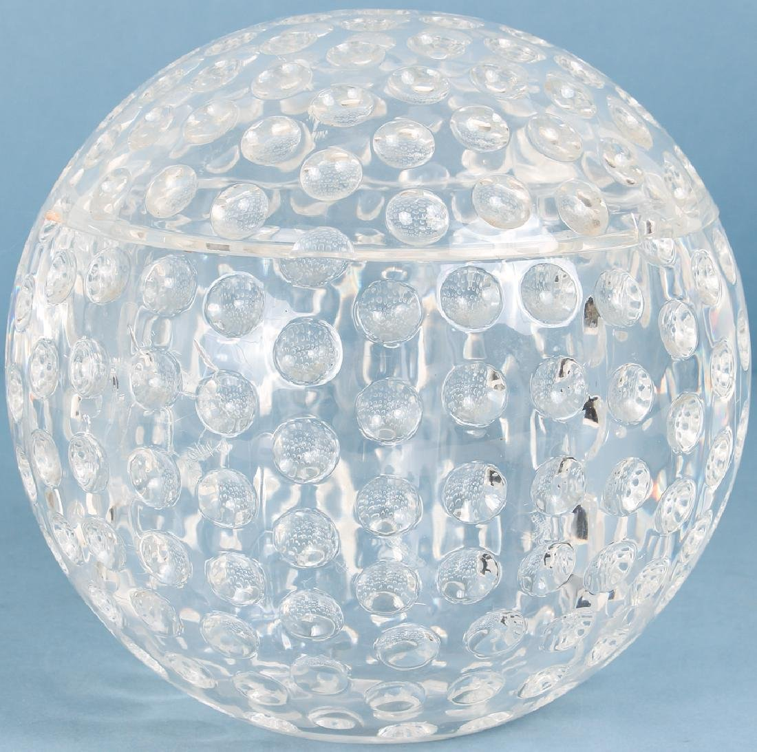 Whimsical Lucite Golf Ball Ice Bucket