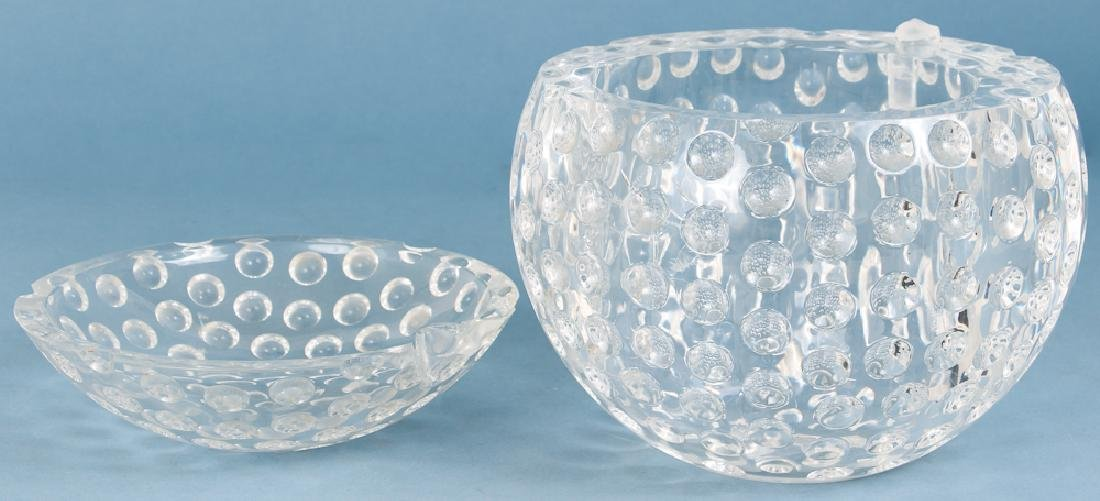 Whimsical Lucite Golf Ball Ice Bucket - 2