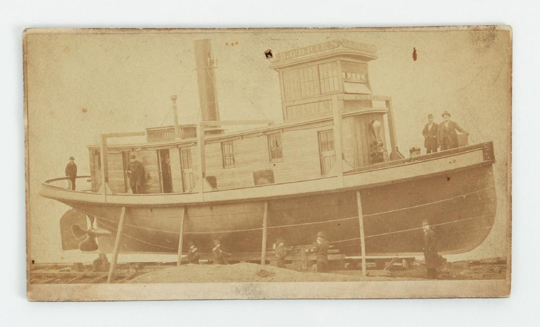 Half Hull for the Tug  Joobkien  1918 - 8