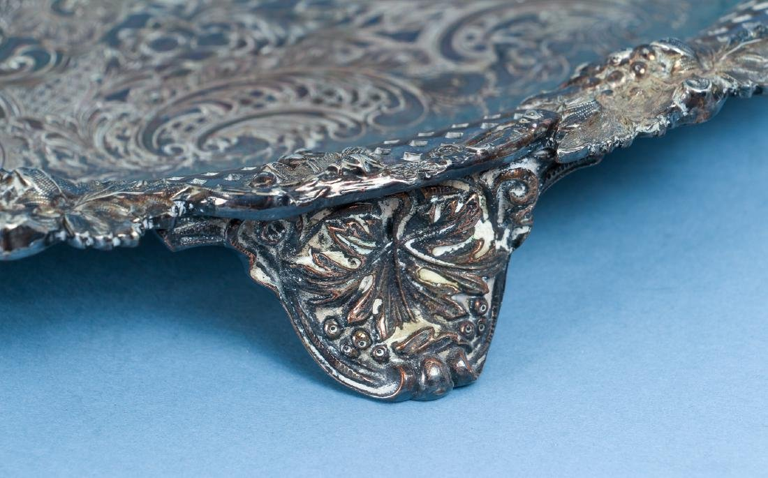Two Silverplate Trays One From Arizona Biltmore - 6