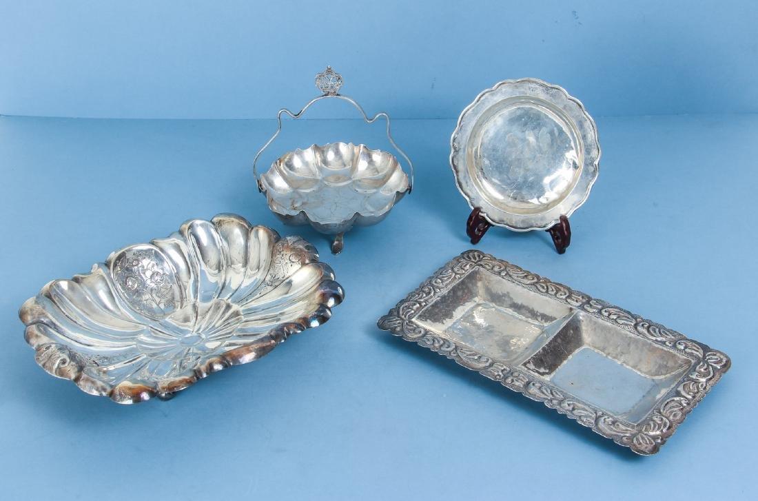 Four Miscellaneous Silver Pieces