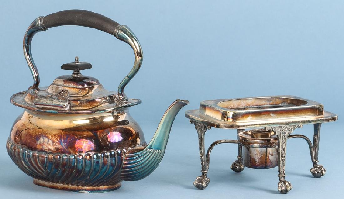 Large Group of Sheffield and Silverplate - 5