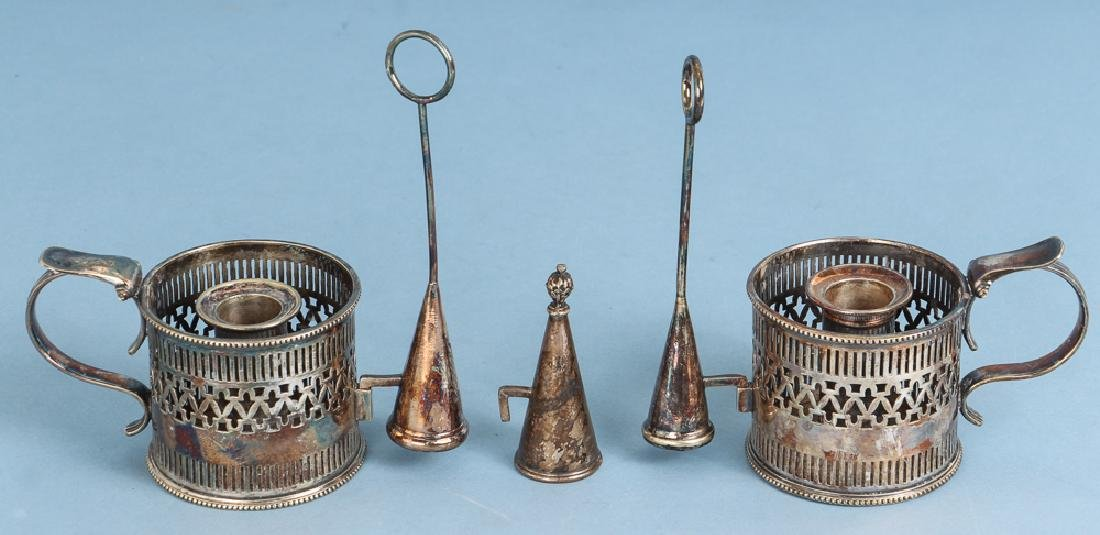 Large Group of Sheffield and Silverplate - 9