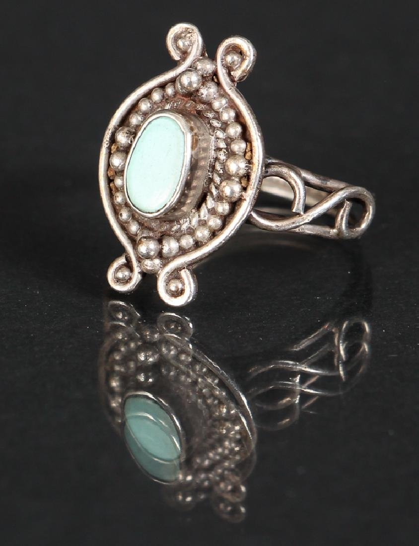 Assorted Navajo Silver Jewelry - 5