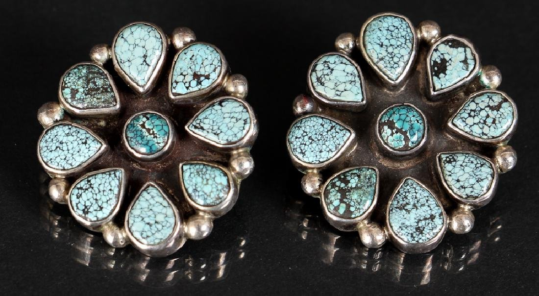 Assorted Navajo Silver Jewelry - 9