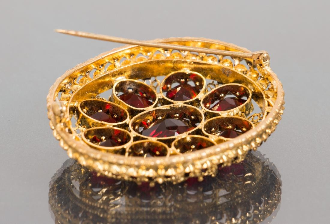 Costume Jewelry Bracelet and Pin - 5