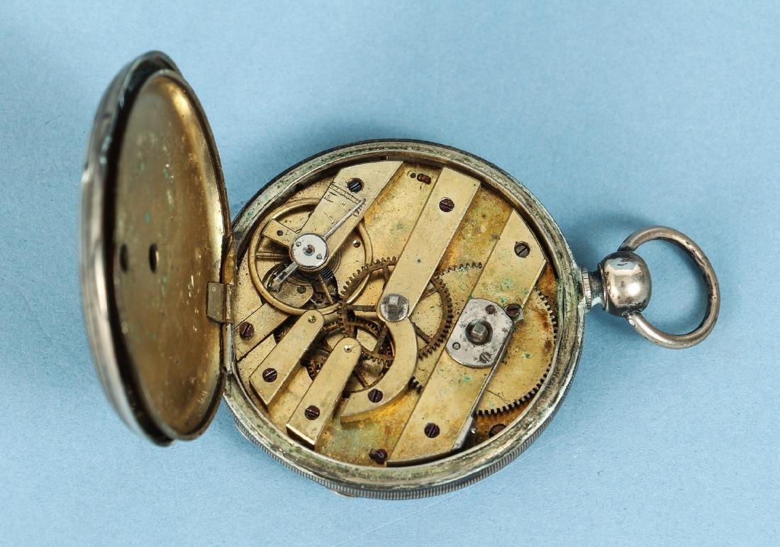 M J Tobias Liverpool Railway Timekeeper Watch - 4