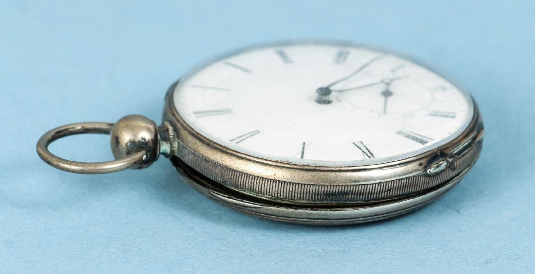 M J Tobias Liverpool Railway Timekeeper Watch - 5
